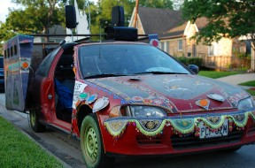 Women Under Siege: Revolution Art Car